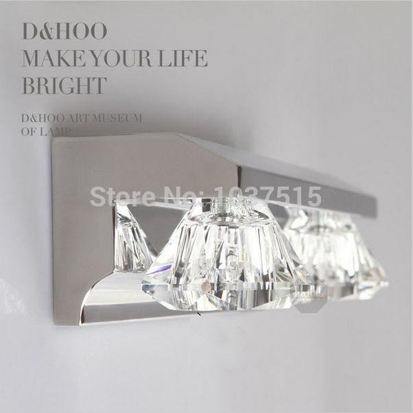 Mordens 2 Leuchten Kristall Badezimmer Wandleuchte Spiegel-front ... Luxus Badezimmer 2