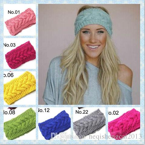 2016 Hot Sales Womengirls Cable Knitted Headband Ear Warmer Fashion