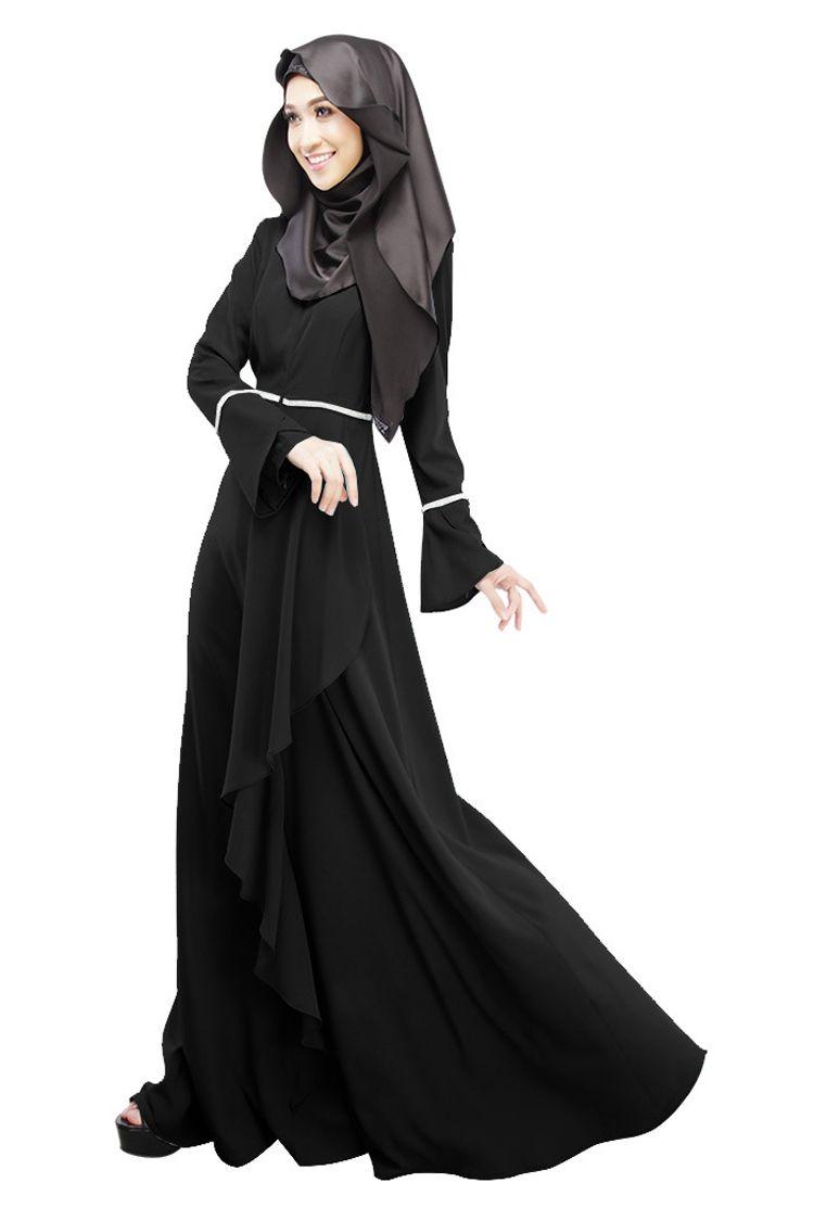 Abaya vestido musulmán turco mujeres ropa islámica abayas jilbab musulmane vestidos longos ropa dubai kaftan longo giyim rosa