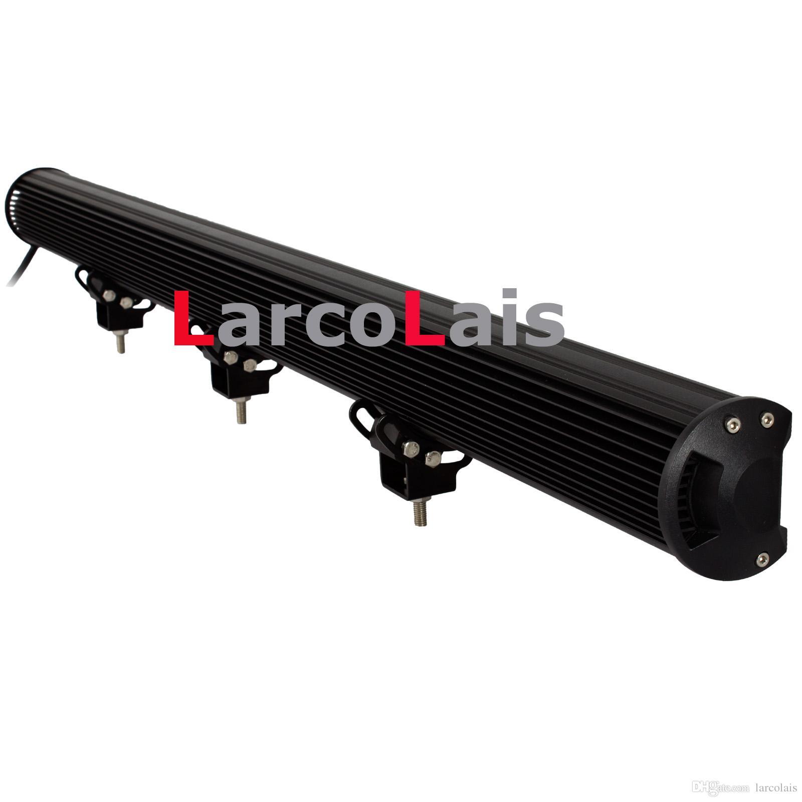 43 pulgadas 288W CREE LED Light Bar Jeep Truck Trailer 4x4 4WD SUV ATV Off-Road Car 12v 24v Trabajo Lámpara de trabajo Lápiz Haz extendido