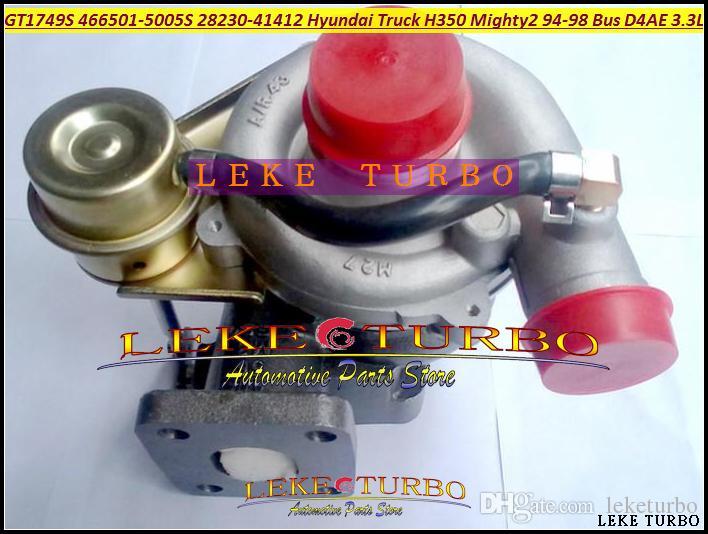 GT1749S 466501 466501-5003S 466501-0003 28230-41401 Turbo Turbocompresseur Pour HYUNDAI Camion H350 Mighty II 1994-98 Chrorus Bus H600 D4AE 3.3L