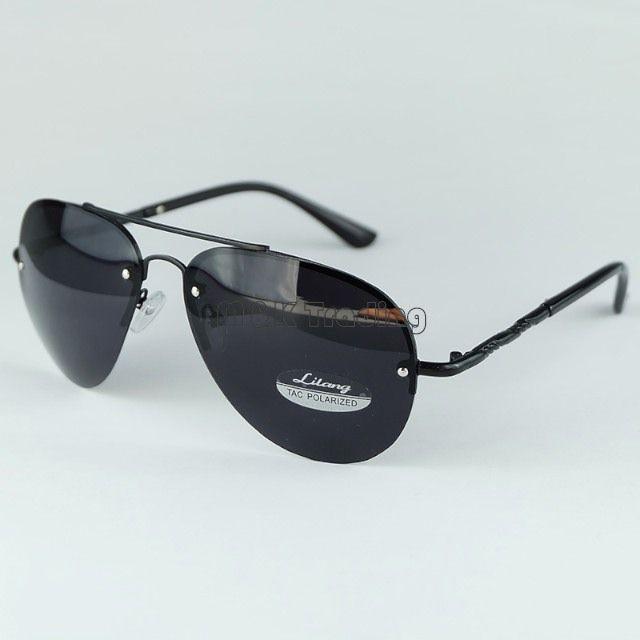 2915466dd95 New Arrival Polarized Metal Sunglasses Pilot Mens Sun Glasses No Frame TAC Lenses  UV400 Black And Gungrey Serengeti Sunglasses Sun Glasses From Melody2041