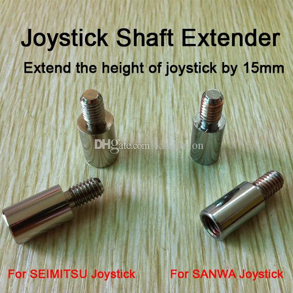 10pcs of 1.5cm Classic Arcade game Joystick Shaft Extender Extension rod for Sanwa Joystick