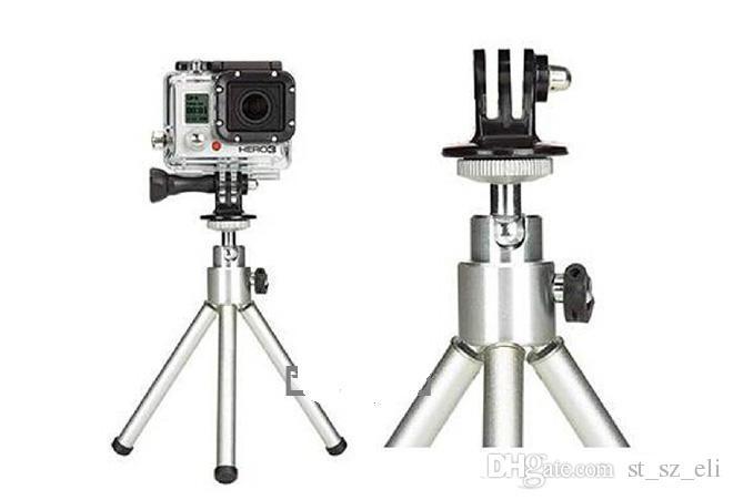 Pro for Go pro 1 / 3 GoPro 3 / 2 / 1 용 삼각대 마운트 및 셀프 용 AEE Monopod 스포츠 카메라 액세서리 나사