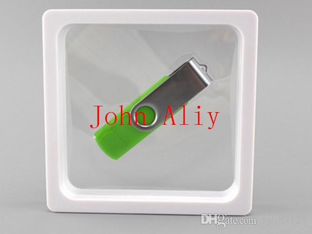 9x9x2cm,Clear Plastic Membranes Photo Frame Display/ Collection Box ...