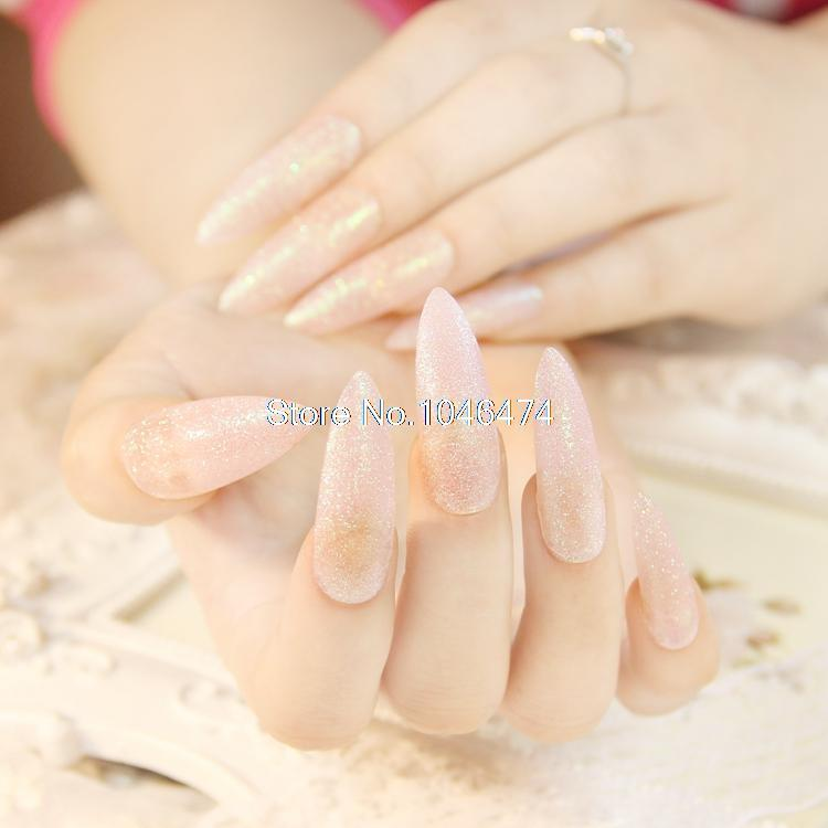 Wholesale The Most Fairy Longest Nail Patch Full Cover Extension ...