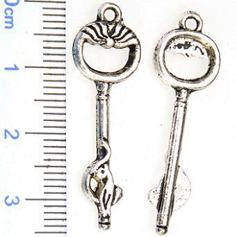 سحر يمزج المجوهرات العتيقة مفاتيح فضة خمر معدنية جديدة ديي الأزياء والاكسسوارات والمجوهرات للمجوهرات الأساور والقلائد صنع