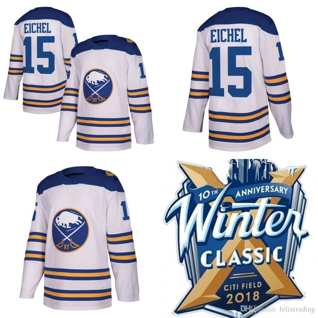 6066fef88 ... sale 2019 2018 winter classic jersey 15 jack eichel 90 ryan oreilly buffalo  sabres hockey jerseys