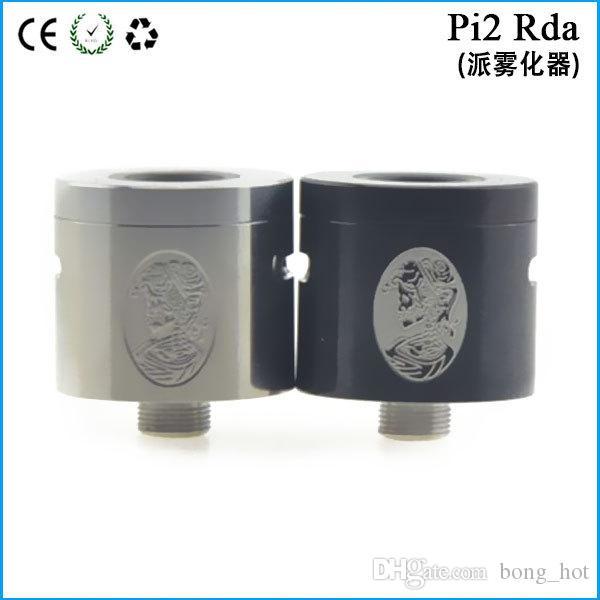 Pi 2 RDA клон 22 мм Диаметр DIY атомайзер с не пост дизайн Pi2 капает бак Медный контакт 510 нить