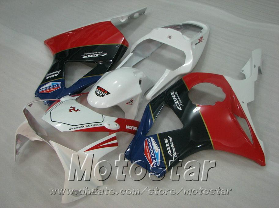 Injection molding Motorcycle parts for Honda cbr900rr fairings 954 2002 2003 red white black CBR954 fairing kit CBR900 RR 02 03 YR11