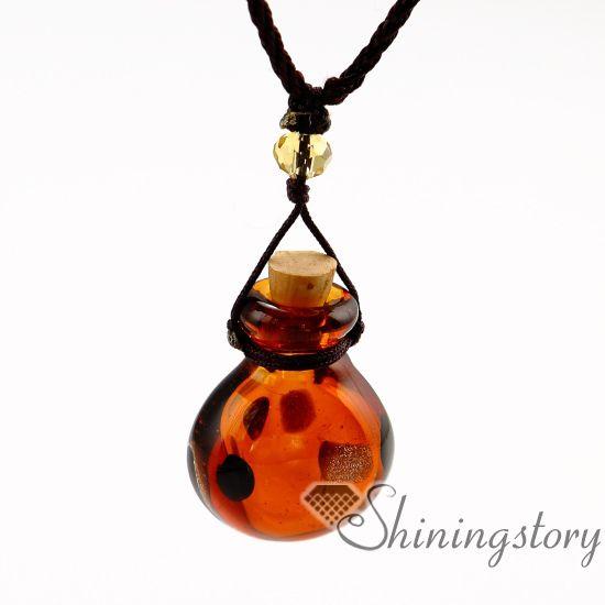 духи образца флаконы муранского стекла ароматерапия эфирного масла подвеска диффузор ожерелье диффузор ожерелье оптового масло диффундирующего ожерелье