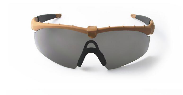 Новый Si Bal M Frame 2.0 3 линзы тактические очки ветрозащитное зеркало Стрельба TR90 солнцезащитные очки спортивные очки Мужчины спортивные солнцезащитные очкибесплатная доставка