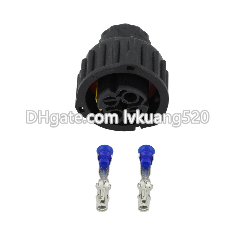 2 Pin waterproof automotive connectors with terminal block DJ3022Y-2.5-21
