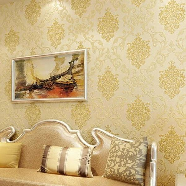 Contemporary Wallpaper Stripe European Style Wallpaper Wall Covering ...