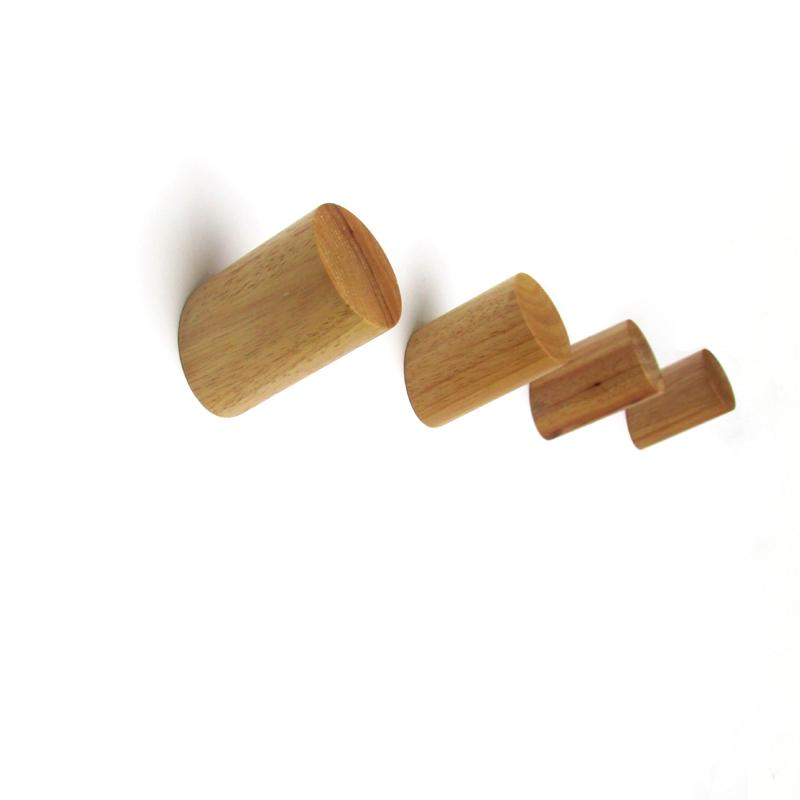 Wholesale- Creative Wood Coat Hooks Decorative Wall Hook Minimalist ...