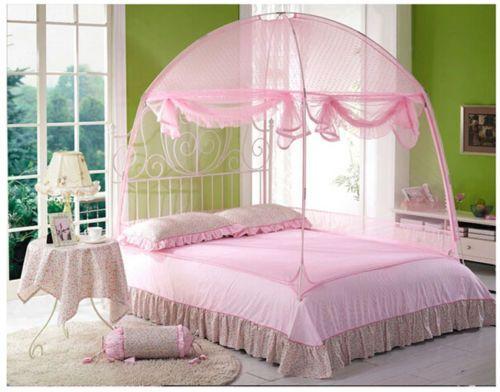 Großhandel Hight Qc Bett Baldachin Moskitonetz Zelt Für Queen Size Bett Von  Haorizi123, $76.38 Auf De.Dhgate.Com | Dhgate