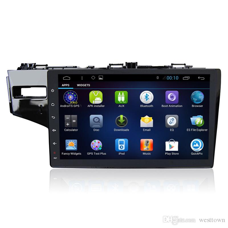 Capacitive Touch Screen 2 Din Car GPS Glonass Navigation for Honda Fit 2014 with Bluetooth RDS FM Radio 1080P HD Video Car DVD Player