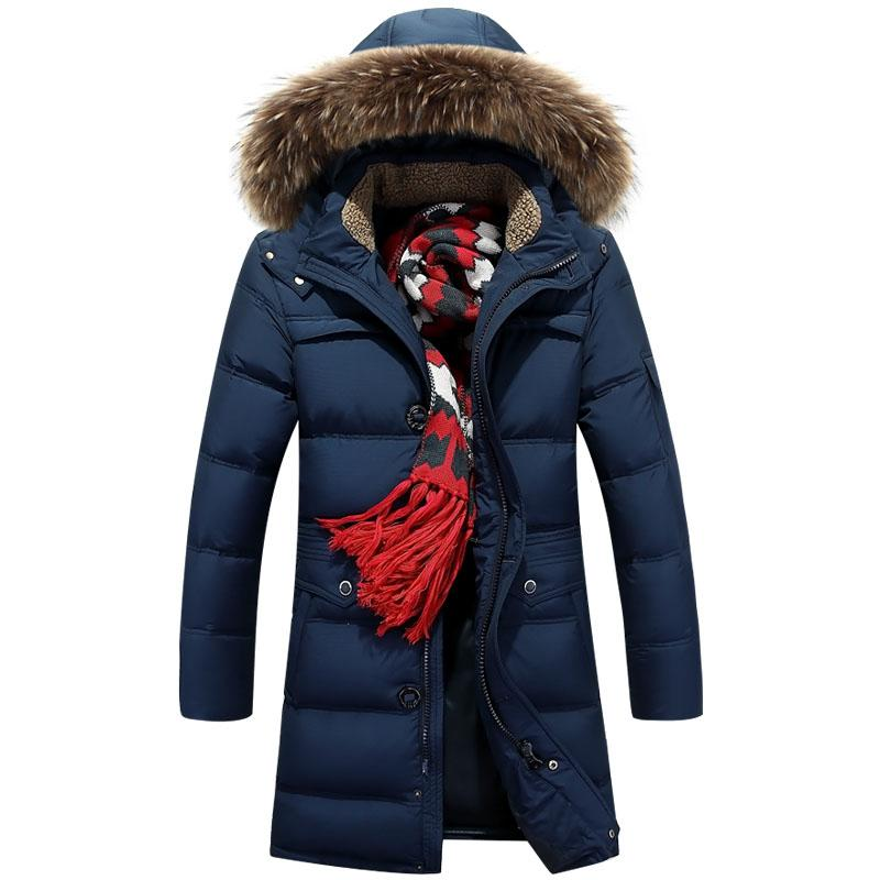 Men's Clothing Down Jackets Strong-Willed 2018 New Mens Winter Duck Down Jacket Men Breathable Jackets Two Side Wearing Outdoors Plus Size Coats Parkas