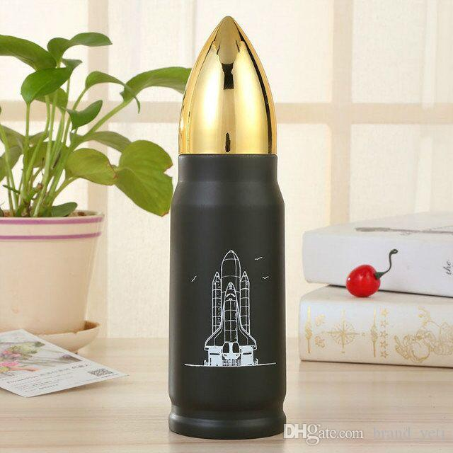 91b5ad163f0 2017 New stlye Stainless Steel mugs Vacuum Cup Tea Coffee Flask Mug Bullet  thermos cup bottle Travel Drink Bottle High quality by DHL