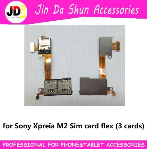 Satin Al 3 Sim Kart Flex Sony Xperia M2 Icin D2303 D2305 D2306 Micro