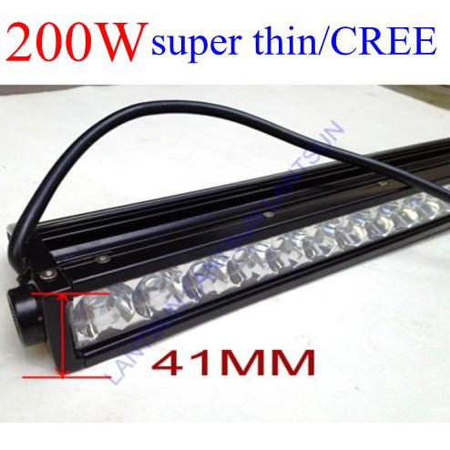 Super slim 20inch led light bar 200w 10w cree chips for car ip68 one super slim 20inch led light bar 200w 10w cree chips for car ip68 one year warranty led light working led light working principle from lantsunsales mozeypictures Image collections