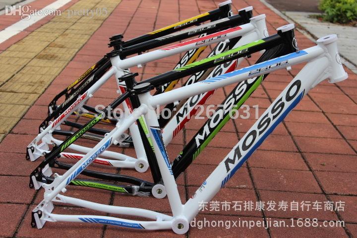 wholesale mtb frames genuine 2015 mosso 2606tb 7005 aluminum taiwan bike frame mountain bicycle mtb frame vintage bike frames single speed mountain bike - Mtb Frames