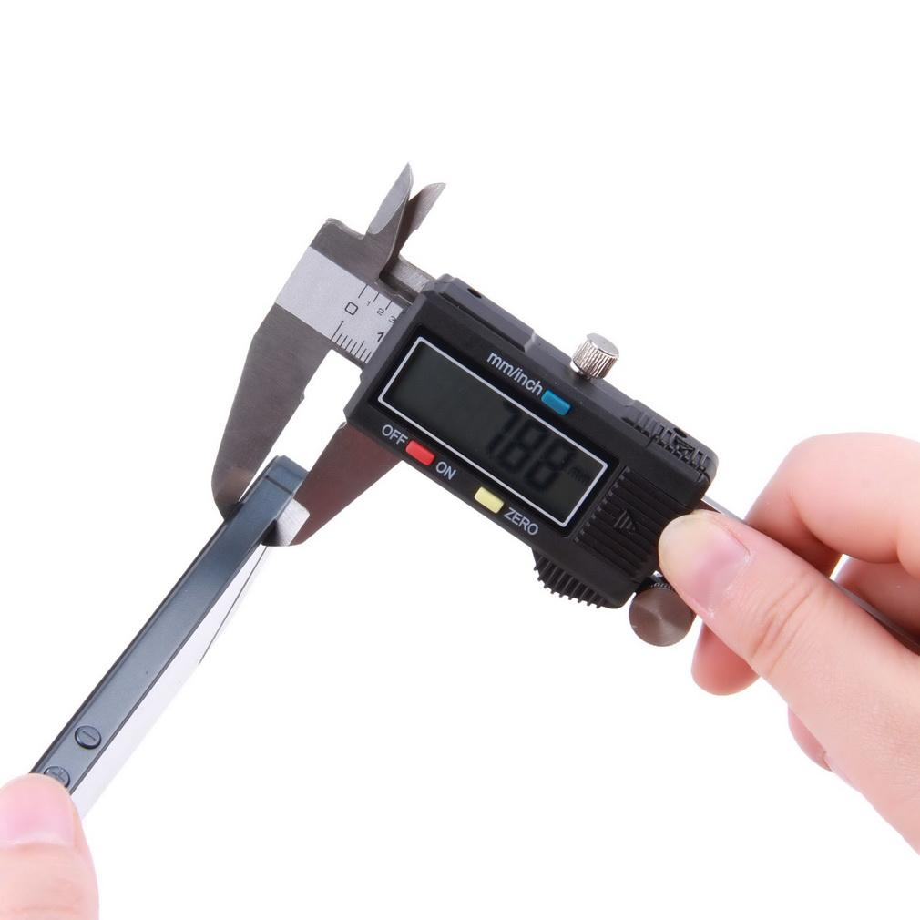 1pcs150MM Electric 6 Stainless Steel Digital Vernier Dial Caliper Gauge Micrometer Hot Search T0009