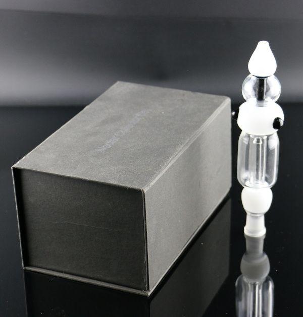 Haken 14mm Nektar Sammler Kit mit Nagel Alle dicken Glasrohr Micro NC Collector Set Wasser Mini Bong