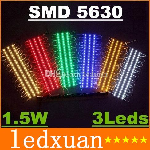 outdoor advertising signs led modules lights 3 leds smd5630 15w high bright backlight channel letter led lights modules case waterproof