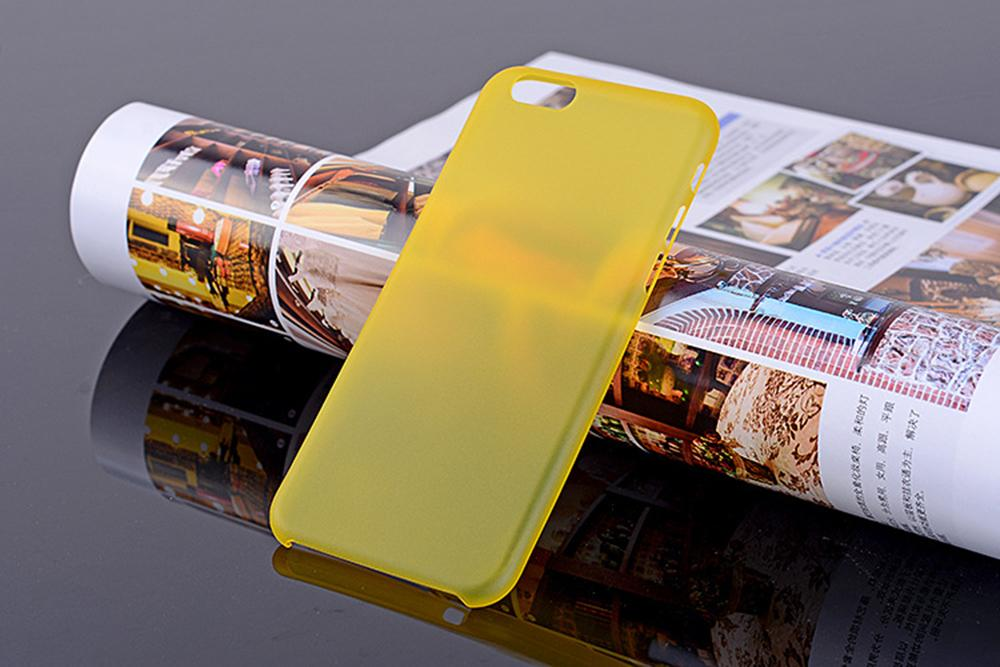 Best Super Thin 0.3mm Matte Frosted Clear Soft PP Back Cover Cases Skin For iPhone 6 6S Samsung Galaxy S5 Cellphone Smartphone