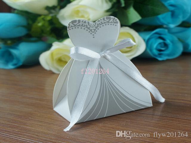 Fedex DHL libera el envío La caja más nueva del caramelo de la caja del regalo de las cajas del favor de la boda de la caja de la novia y del novio, / =