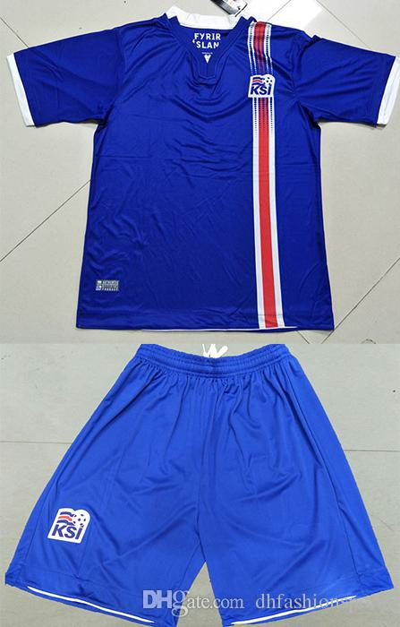 a6ab0ebce Pictures. 2018 Iceland Soccer World cup jerseys set clothing uniforms ...