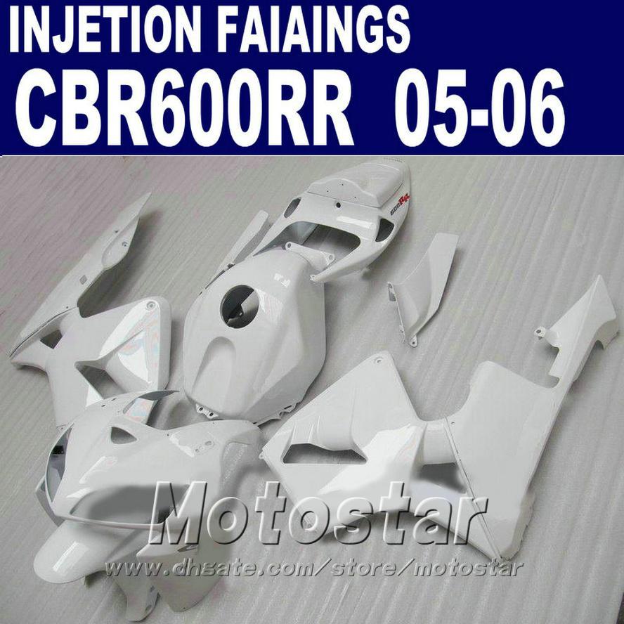 HONDA CBR 600 RR fairings kiti için ucuz Enjeksiyon kiti 2005 2006 cbr600rr 05 06 cbr 600rr motosiklet kaporta kiti vS5G