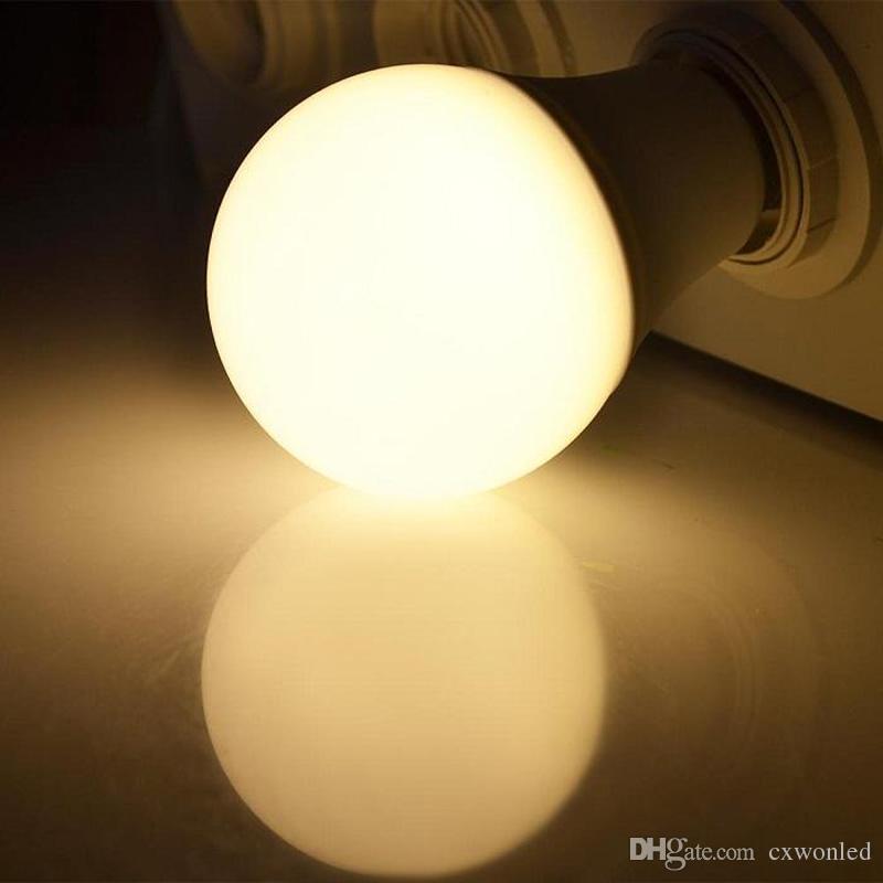 CREE LED Ampuller için E27 Küre Ampuller Işıkları 5 W 7 W 9 W 10 W SMD5730 LED Işıkları Lamba AC 85-265V CE ROHS UL SAA