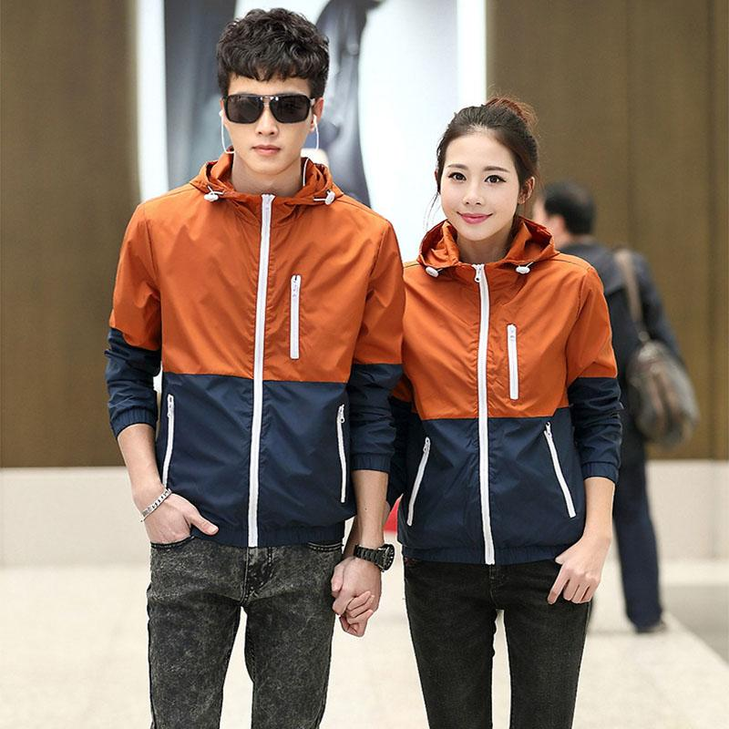 2017 Spring New Jacket Women's Women Jacket Fashion Thin Windbreaker Men Women Coat Jackets Women