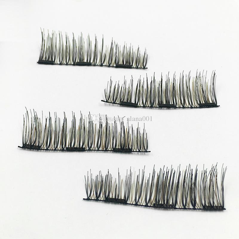 마그네틱 아이 래쉬 트라이 마그네틱 컬러 틀린 속눈썹 재사용 가능한 마그네틱 속눈썹 일상 생활에 완벽한 = 1 쌍