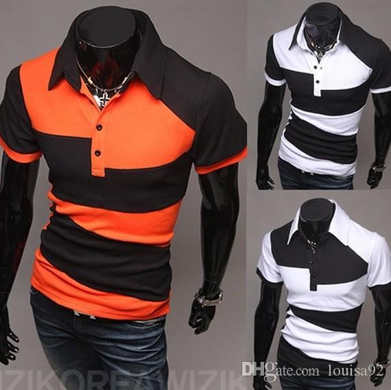 0f893bd4c 2019 New Men Brand Tshirt Short Sleeve Polo Shirt Vintage Sports Jerseys  Golf Tennis Casual Shirts Tee Blusas M XXL From Louisa92