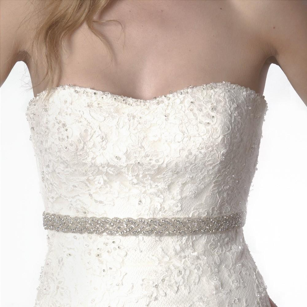 Wedding Gowns With Sashes: 2019 Beautiful New Handmade Pearl Slim Wedding Sash Shiny