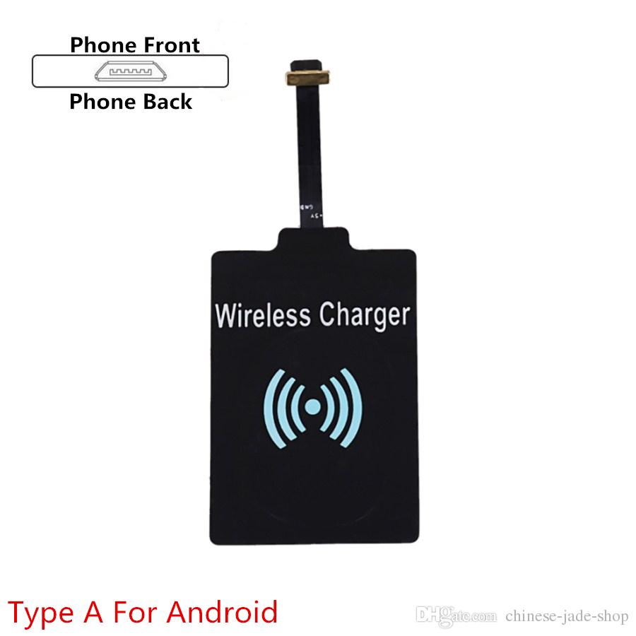 Qi Charger wireless Receiver Charging For Samsung Galaxy S3 S4 S5 NOTE2 NOTE3 NOTE4 type-c iphone 5 6 iphone 7 plus