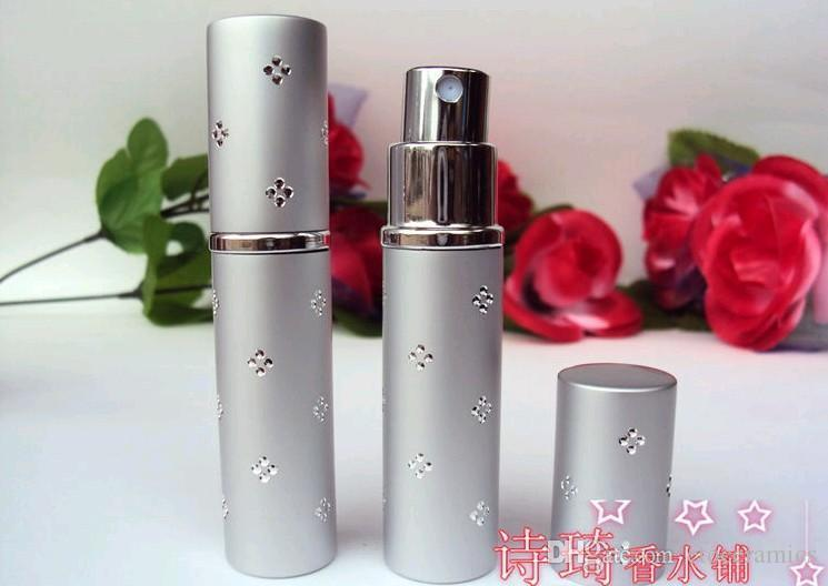 5 ml parfumfles reizen parfum verstuiver navulbare spray lege fles topkwaliteit Fedex DHL snelle verzending 500 stuks omhoog