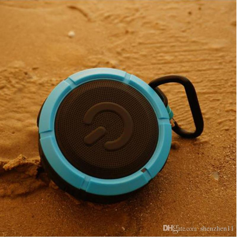 PUK-F1 Bluetooth Speakers Super Bass Hand Free Portable Music Players For Outdoor Sports Black Blue Green DHL Free MIS101