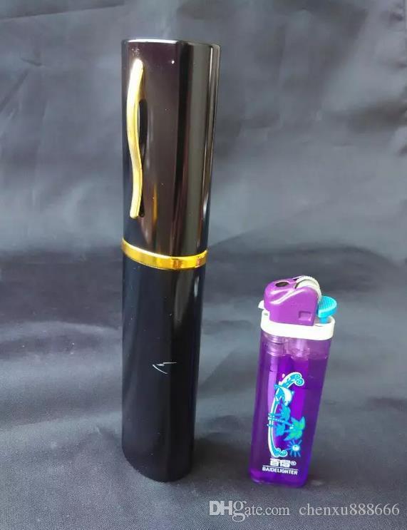Hookah pen, color random delivery, wholesale glass hookah accessories, glass bongs accessories, large better