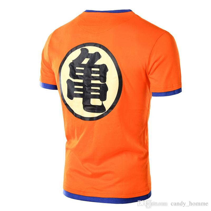 Anime Dragon Ball Z T-shirt Männer 2017 Mode männer Casual T-shirt Kurzarm Slim Fit Goku Cosplay 3D t-shirt 4XL