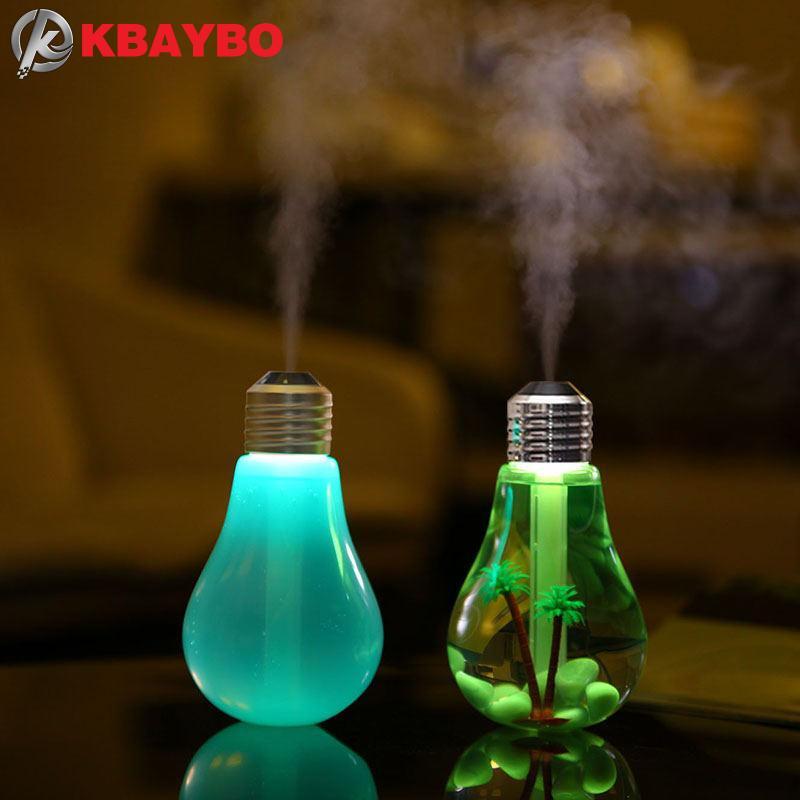 100 ml Ultraschall-luftbefeuchter Ätherisches Öl USB Mini Aroma Diffuser Reiniger Nebel Fogger LED Nacht Licht Für Home Office