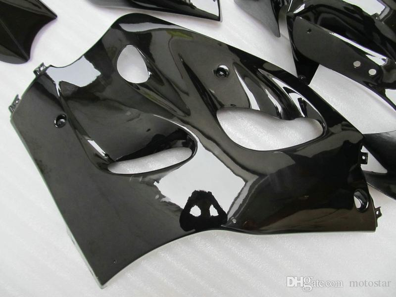 High quality fairing kit for SUZUKI GSXR600 GSXR750 1996-2000 GSX-R 600/750 96 97 98 99 00 all glossy black fairings set GB2