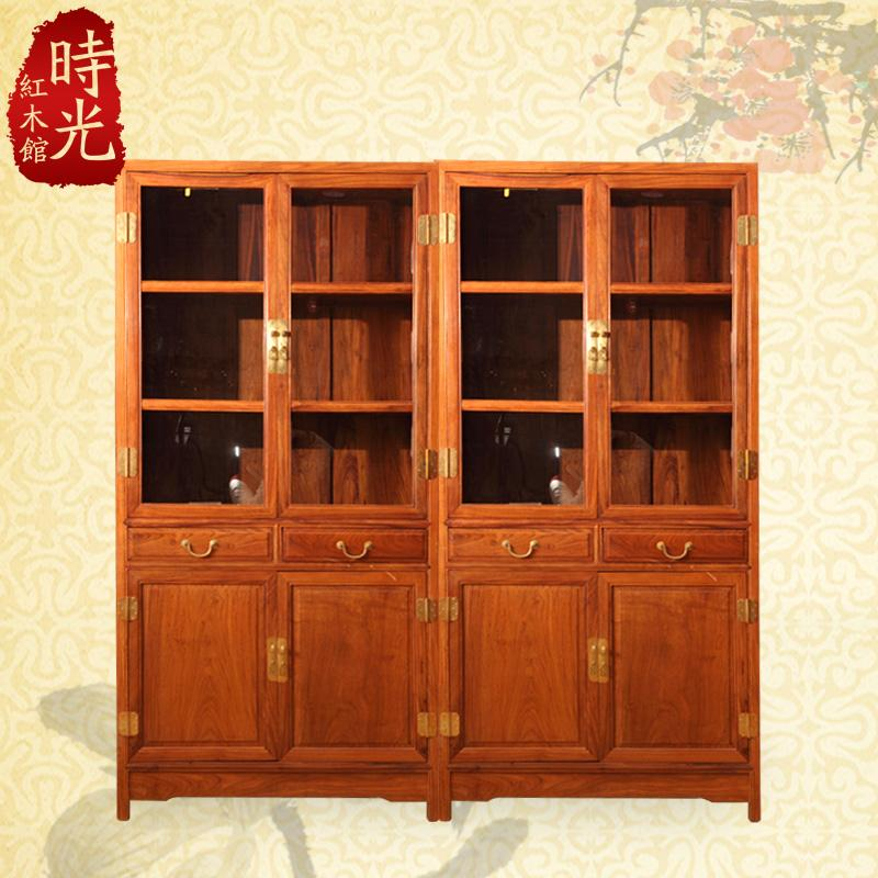 2017 Rosewood Mahogany Furniture, Chinese Antique Bookcase Double Door Glass  Display Cabinet Wood Bookcase Lockers Locker From Xwt5242, $4841.33 |  Dhgate. - 2017 Rosewood Mahogany Furniture, Chinese Antique Bookcase Double