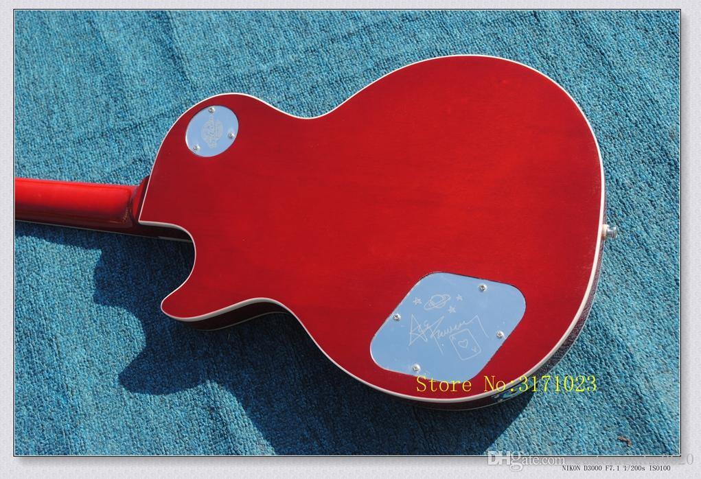 Nouvelle arrivée Cherry Burst Ace Frehley guitare électrique en gros de Chine CHAUD