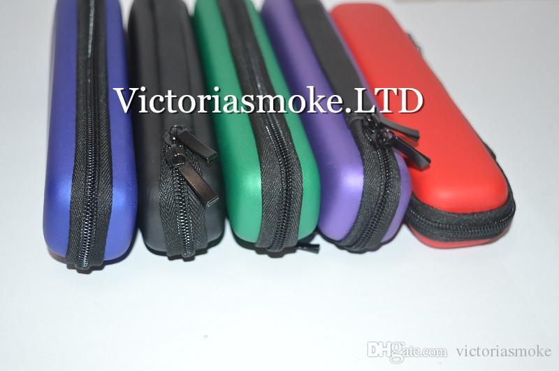 2015 Новые Длинные узкие мини Zipper Case Эго Case E Cigarette E Cig молния кожаный чехол сумка для Ego Evod Ce4 Protank Эго Start Kit E CIGS