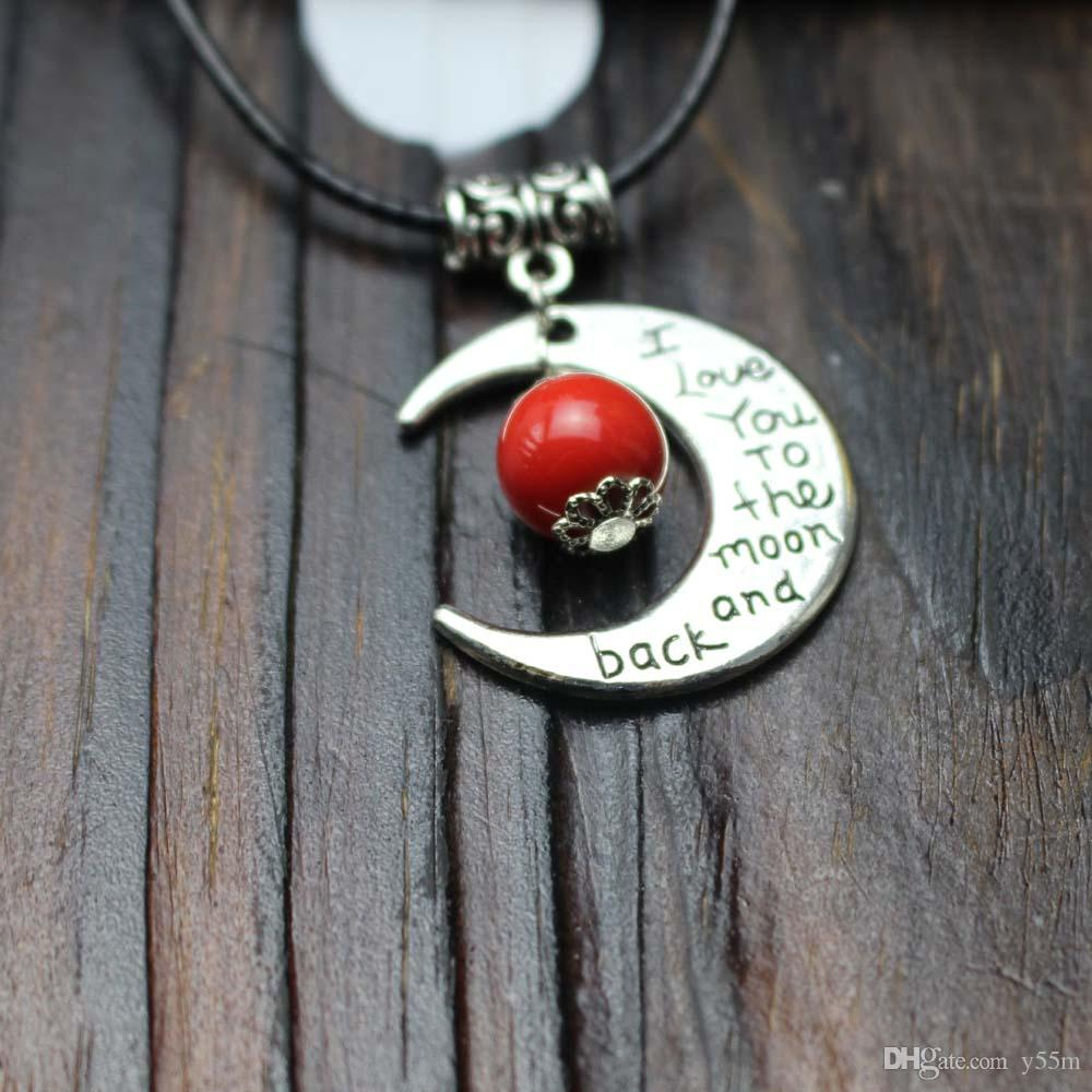 Wholesale lucky charm necklace the sun and moon coexist pendant lucky charm necklace the sun and moon coexist pendant sports casual christmas gift lover sweetheart present aloadofball Gallery