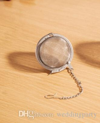 / gros diamètre inoxydable 4.5cm boule de tamis à thé Spice Ball Strainer Ball